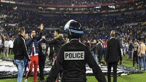 Lyon-Beşiktaş Maçı Öncesi Çıkan Olaylar
