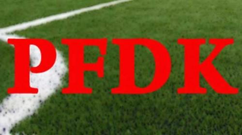 Super Lig'den 7 Kulüp Pfdk'da