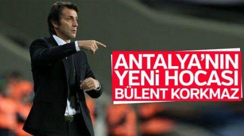 Antalyaspor Bülent Korkmaz 'a Emanet