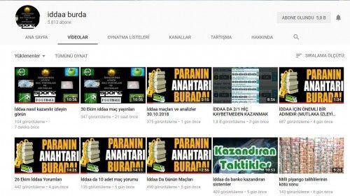En Başarılı İddaa Youtube Kanalları