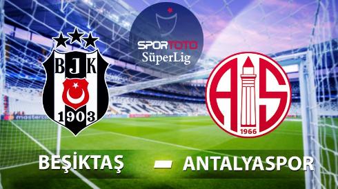 Beşiktaş Antalyaspor İddaa ve Maç Tahmini 19 Eylül 2020