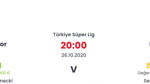 Denizlispor Beşiktaş İddaa ve Maç Tahmini 26 Ekim 2020