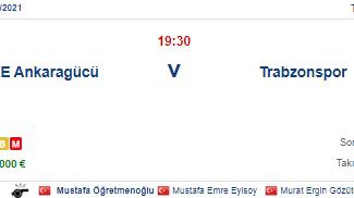 Ankaragücü Trabzonspor İddaa ve Maç Tahmini 27 Kasım 2020