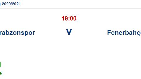 Trabzonspor Fenerbahçe İddaa ve Maç Tahmini 28 Şubat 2021