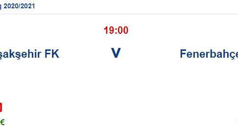 Başakşehir Fenerbahçe İddaa ve Maç Tahmini 18 Nisan 2021