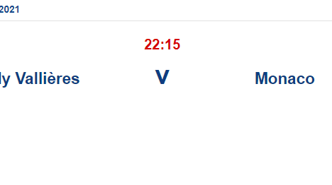 Vallieres Monaco İddaa ve Maç Tahmini 13 Mayıs 2021