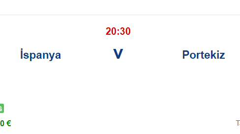 İspanya Portekiz İddaa ve Maç Tahmini 4 Haziran 2021