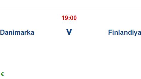 Danimarka Finlandiya İddaa ve Maç Tahmini 12 Haziran 2021