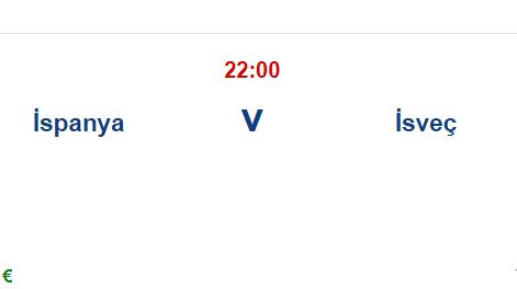 İspanya İsveç İddaa ve Maç Tahmini 14 Haziran 2021