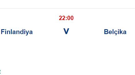 Finlandiya Belçika İddaa Maç Tahmini 21 Haziran 2021
