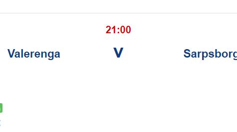 Valerenga Sarpsborg İddaa Maç Tahmini 1 Temmuz 2021