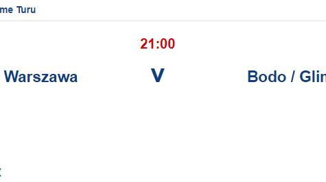 Legia Warszawa Bodo Glimt İddaa ve Maç Tahmini 14 Temmuz 2021
