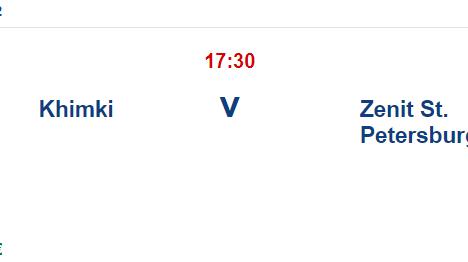 Khimki Zenit İddaa ve Maç Tahmini 24 Temmuz 2021