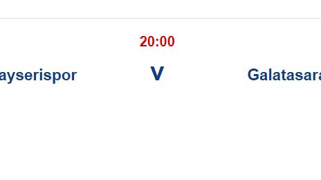 Kayserispor Galatasaray İddaa ve Maç Tahmini 22 Eylül 2021