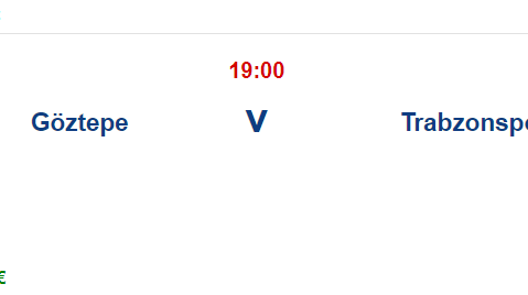 Göztepe Trabzonspor İddaa ve Maç Tahmini 23 Ekim 2021